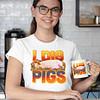 I Dig Pigs White Shirt