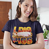 I Dig Pigs Navy Shirt