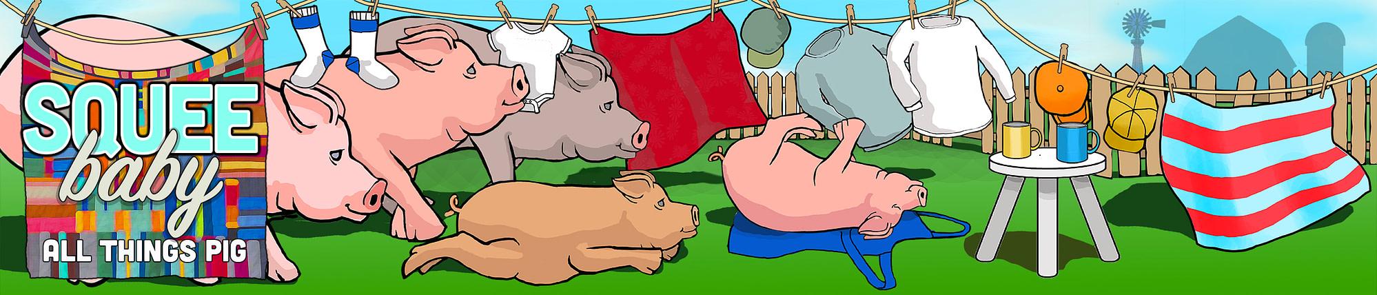 Squee Baby Pig Merchandise
