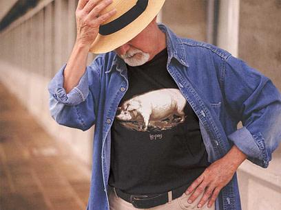 Pig Latin Black Shirt