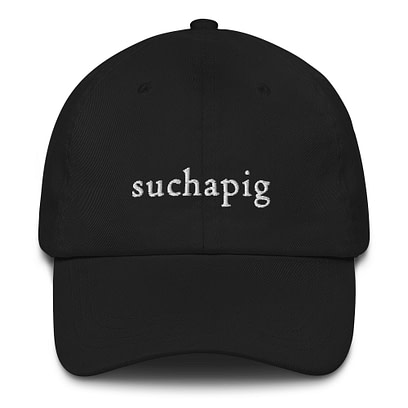 suchapig cap