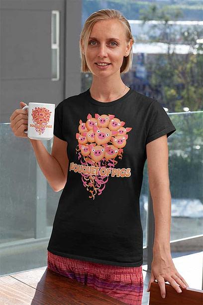 Bouquet of Pigs Shirt