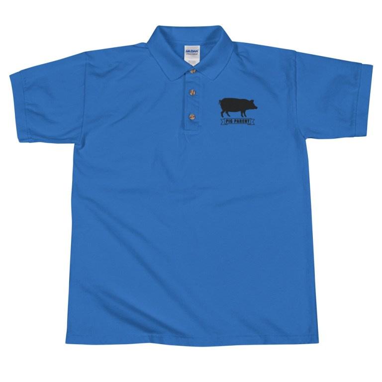 Pig Parent Blue Shirt